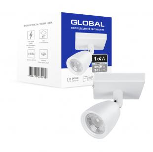 Світильник світлодіодний GSL-01S GLOBAL 4W 4100K білий