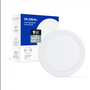 Точечный врезной LED-светильник GLOBAL SP adjustable 9W, 4100K (круг)