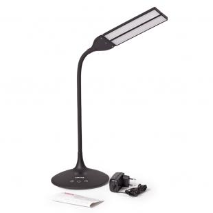 Умная лампа MAXUS DKL 8W (трансформ., аккум., таймер, димм., темп.) черная