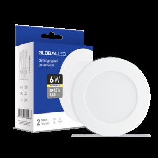 LED светильник GLOBAL SPN 6W теплый свет (1-SPN-003-С)