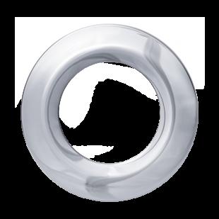 Деко.накладка для LED светильника SDL mini,  Хром (по 2 шт.)