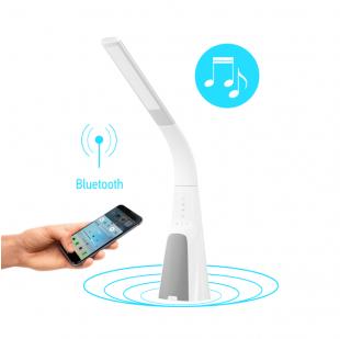 Умная лампа Intelite DL7 9W (USB, димминг, температура, звук) белая