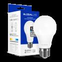 LED лампа GLOBAL A60 12W яркий свет 220V E27 (1-GBL-166-01)