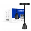 Світильник світлодіодний GPL-01C GLOBAL 7W 4100K чорний
