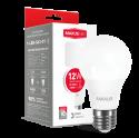 LED лампа MAXUS A65 12W теплый свет 220V E27 (1-LED-563-01)