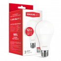 LED лампа MAXUS A65 12W яркий свет E27 1-LED-564-P)
