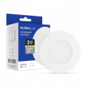 LED светильник GLOBAL SPN 3W теплый свет (1-SPN-001-С)