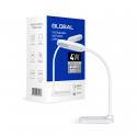 Настольная лампа GLOBAL DL-02 4W 4100K белая
