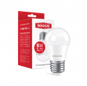 Лампа світлодіодна MAXUS 1-LED-742 G45 5W 4100K 220V E27