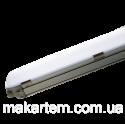 Світильник лінійний, 600 мм, 20Вт, 2200Лм, 5000К, IP65, пластик