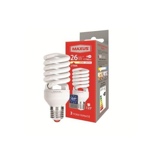 КЛЛ лампа 26W теплый свет Xpiral Е27 220V (1-ESL-015-11)