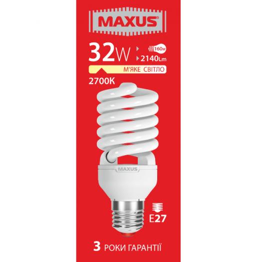 КЛЛ лампа 32W теплый свет Xpiral Е27 220V (1-ESL-019-11)