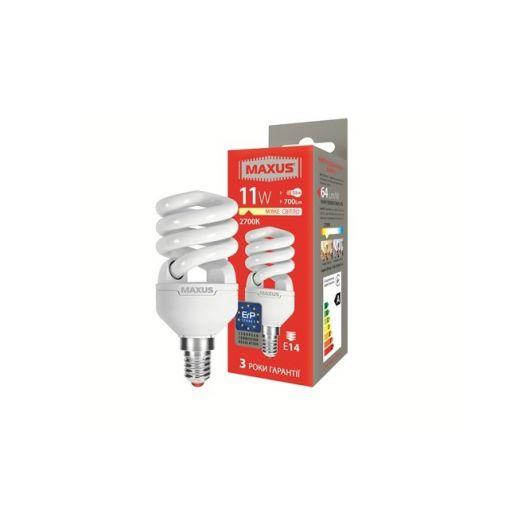 КЛЛ лампа 11W теплый свет Xpiral Е14 220V (1-ESL-339-11)