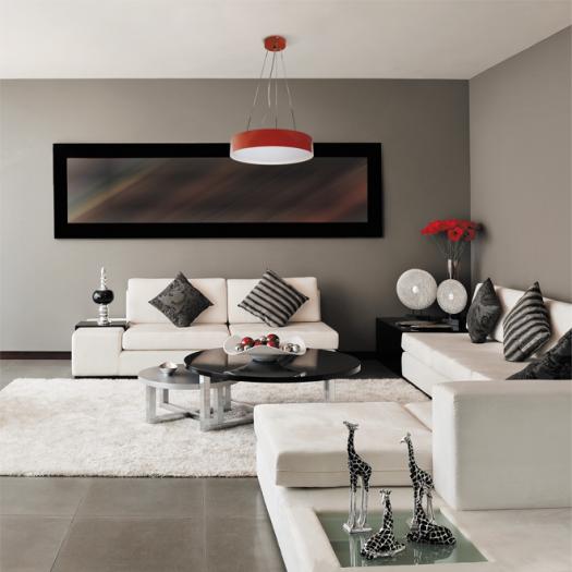Декоративний корпус на светильник Maxus, металл, красный (1-FHA-02-RD)