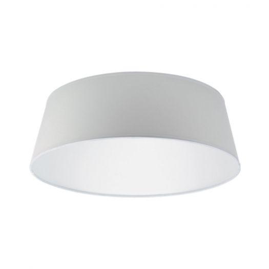 """Декоративний корпус на світильник Maxus (серія """"Збери сам"""") тканина білий"""