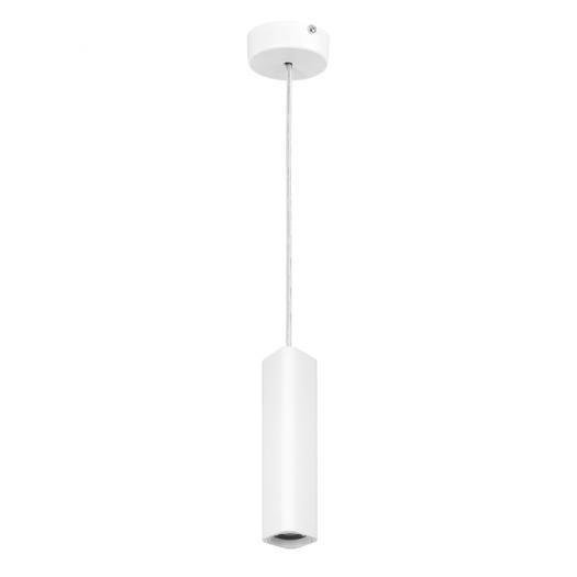 Підвісний світильник Maxus 6W яскраве світло 180мм квадратний білий