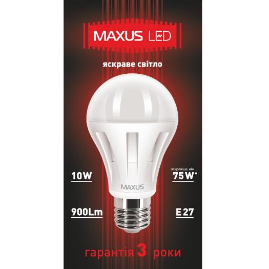 LED лампа 10W яркий свет А60 Е27 220V (1-LED-288)