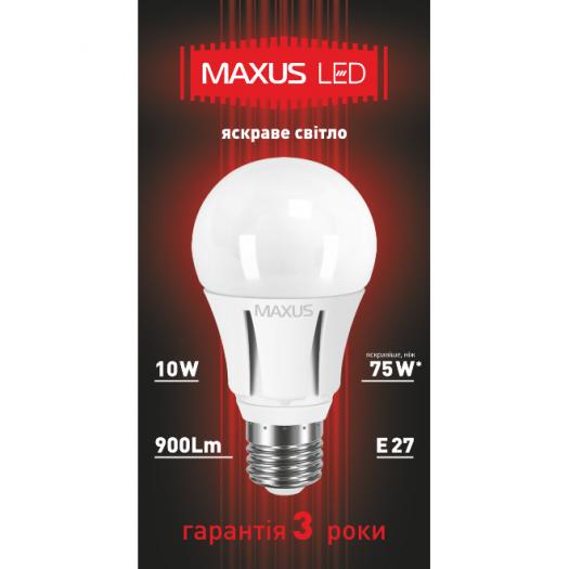 LED лампа 10W яркий свет А60 Е27 220V (1-LED-298)