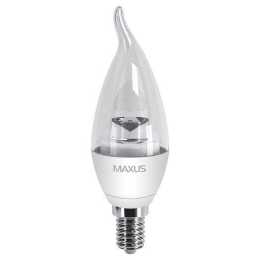 LED лампа 4W теплый свет C37 Е14 220V (1-LED-331)