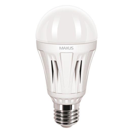 LED лампа MAXUS 12W яскраве світло А60 Е27 220V (1-LED-348)