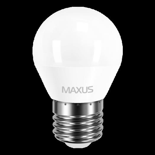 LED лампа MAXUS G45 F 4W яркий свет E27 (1-LED-5410-01)