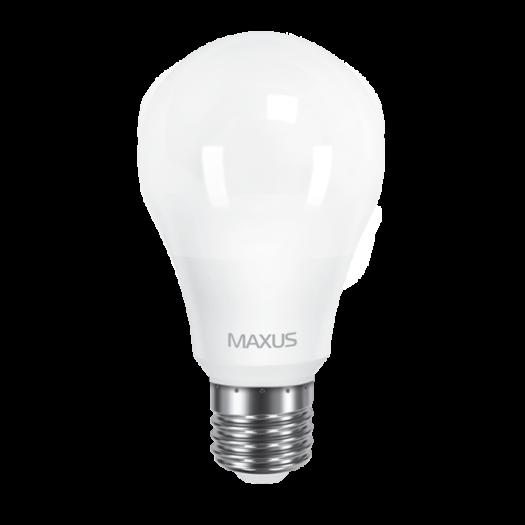 LED лампа MAXUS A60 10W теплый свет 220V E27 (1-LED-561-01)