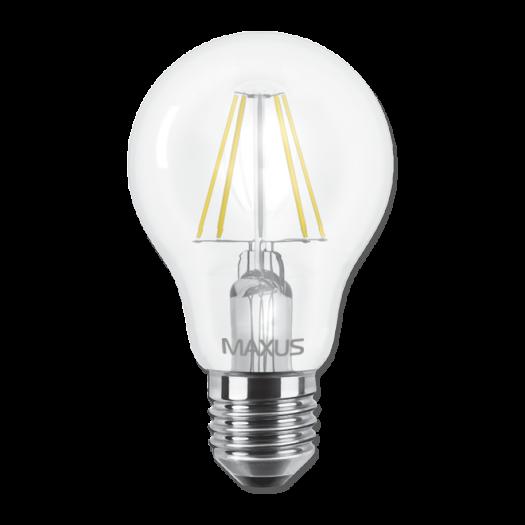 LED лампа MAXUS (filam), А60, 8W, яркий свет,E27 (1-LED-566)
