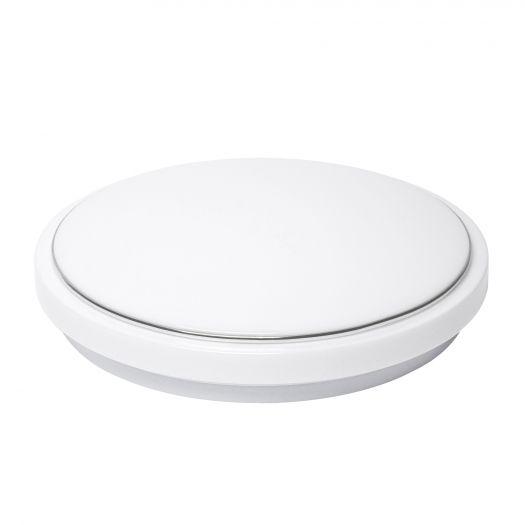 Cветильник накладной MAXUS 18W 4100K (тонкий дизайн, IP40) круглый (03)