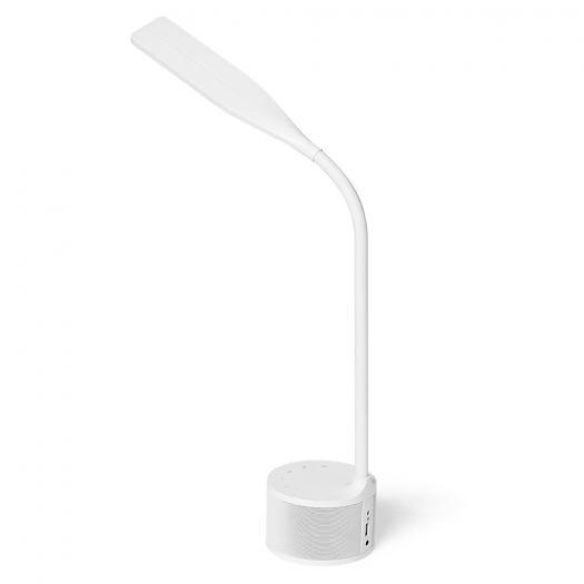 Умная лампа MAXUS DKL 8W (звук, USB, димминг, температура) белая