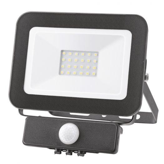 Світлодіодний прожектор MAXUS FL-01 20W, 5000K sensor
