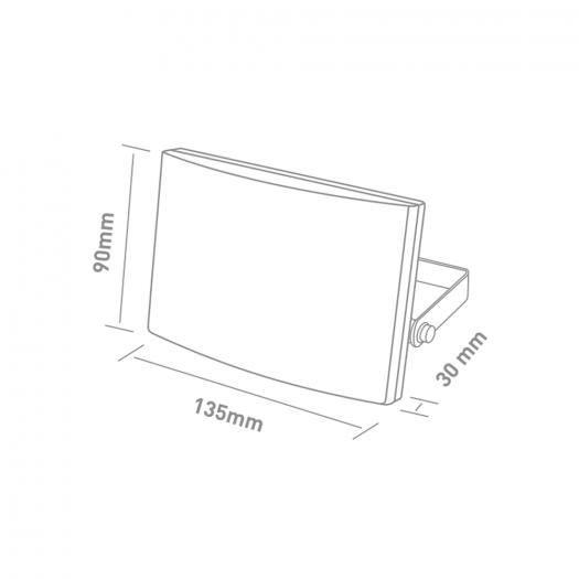Прожектор MAXUS FL-03 20W, 5000K Black