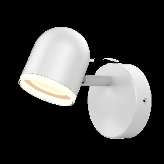 Спотовый светильник MAXUS MSL-01C 4W 4100K белый
