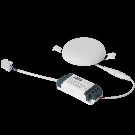 Светильник врезной MAXUS SP edge 9W, 4100К (круг)