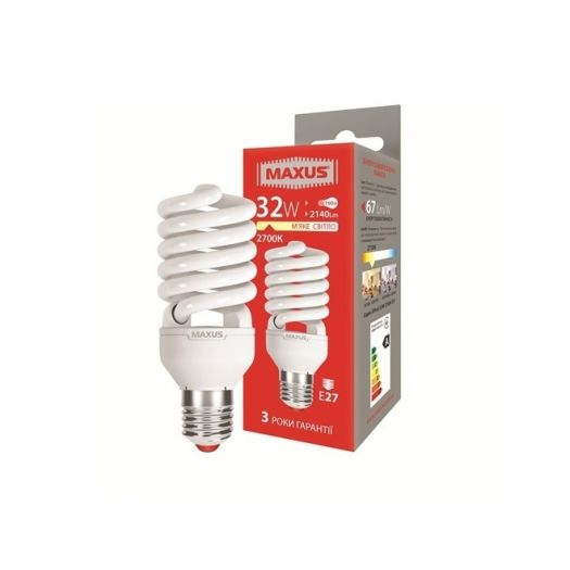 КЛЛ лампа 32W тепле світло Xpiral Е27 220V (1-ESL-019-11)
