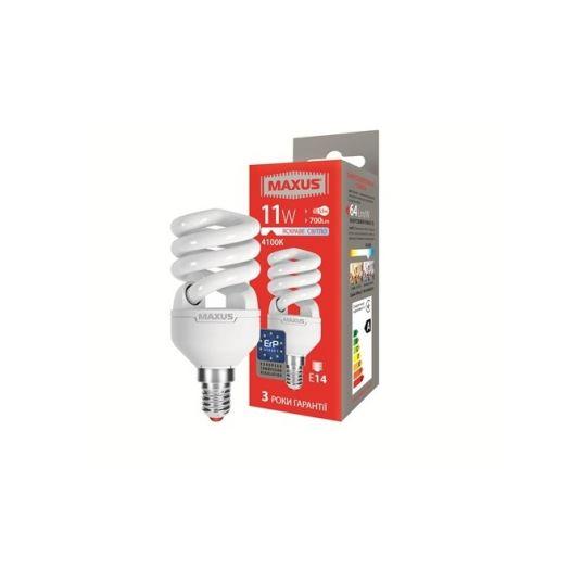 КЛЛ лампа 11W яскраве світло Xpiral Е14 220V (1-ESL-340-11)