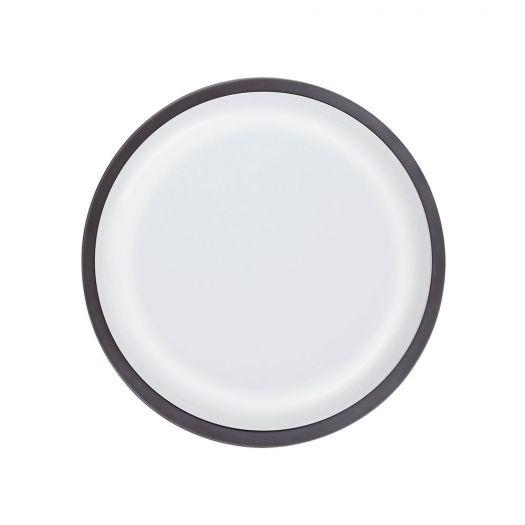 Світильник світлодіодний настінно-стельовий Global GBH 08 20W 5000K circle graphite