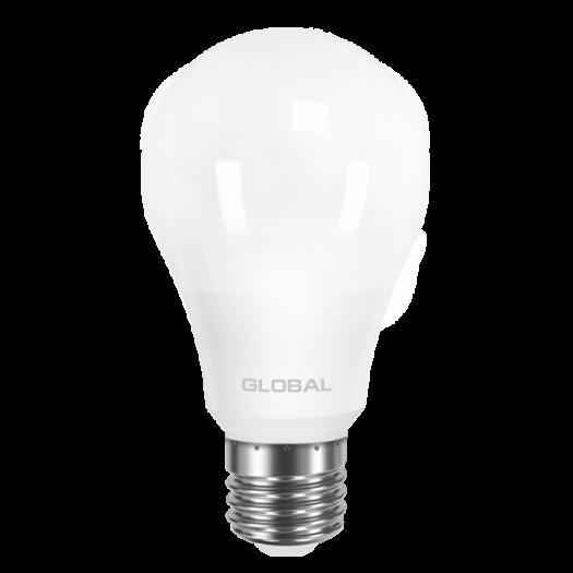 LED лампа GLOBAL A60 8W яскраве світло E27 (1-GBL-162)