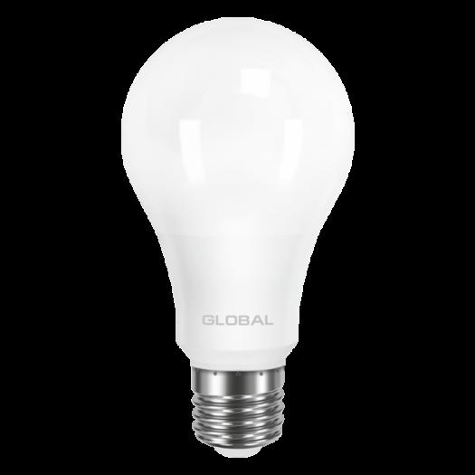 LED лампа GLOBAL A60 12W яскраве світло 220V E27 (1-GBL-166-01)