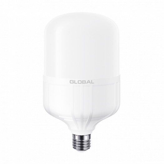 LED лампа (потужна) Global 30W 6500K E27 холодне світло (1-GHW-002)
