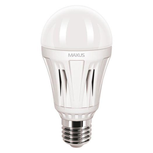 LED лампа MAXUS 10W яскраве світло А60 Е27 (1-LED-258)