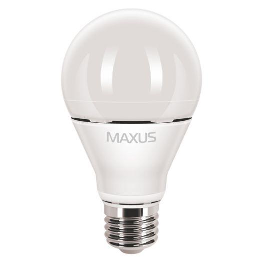 LED лампа MAXUS 10W яскраве світло А60 Е27 (1-LED-370)