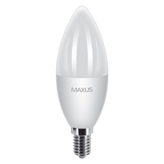 LED лампа 5.5W тепле світло C37 Е14 220V (1-LED-375)