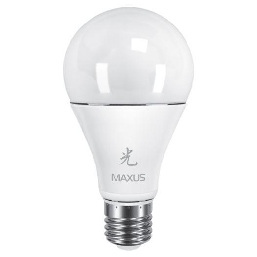 LED лампа 12W тепле світло А65 Е27 220V (1-LED-461)