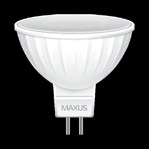 LED лампа MAXUS MR16 8W теплый свет GU5.3 (1-LED-515)