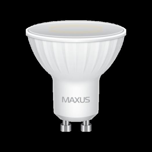 LED лампа MAXUS MR16 5W яркий свет 220V GU10 (1-LED-516)