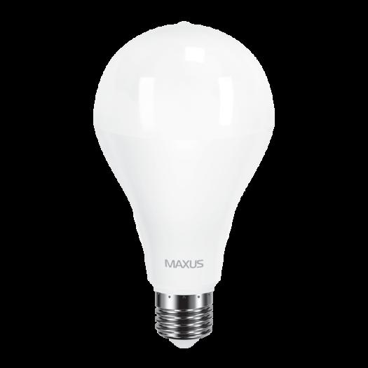 LED лампа MAXUS A80 20W яскраве світло E27 (1-LED-5610)