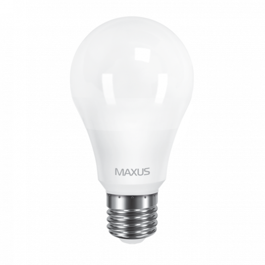 LED лампа Maxus A65 12W яскраве світло 220V E27 (1-LED-564-01)