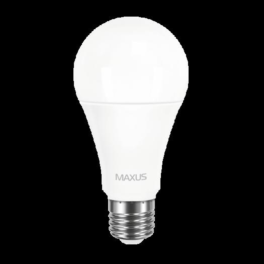 LED лампа MAXUS A65 12W яскраве світло E27 1-LED-564-P)