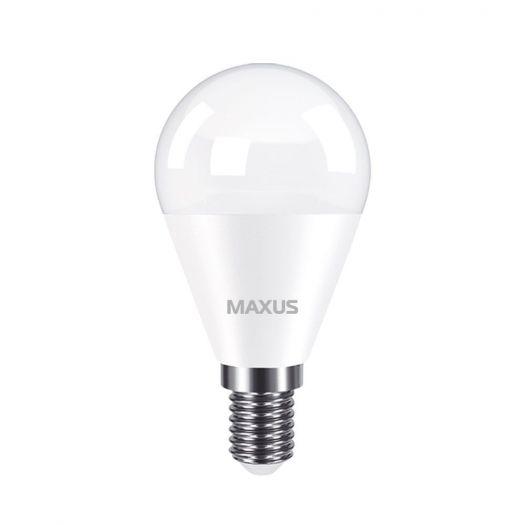 Лампа світлодіодна MAXUS G45 7W 3000K 220V E14