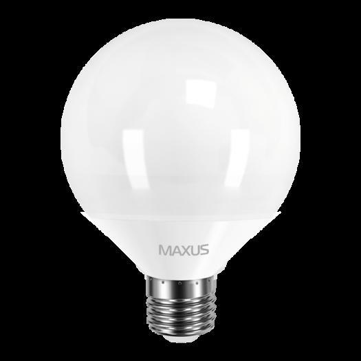 LED лампа MAXUS G95 12W теплый свет 220V E27 (1-LED-901)